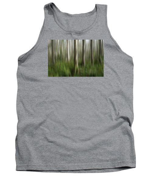 Cypress Tress Digital Abstracts Motion Blur Tank Top