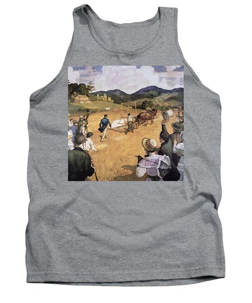 Cyrus H Mccormick And His Reaping Machine Tank Top