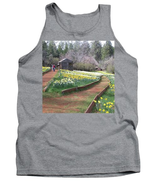 Daffodil Hill Pathway Tank Top