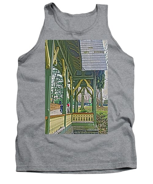 Dairy Cottage Porch Tank Top by Sandy Moulder