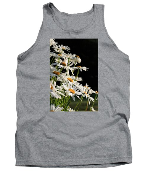 Daisies Tank Top by Dorothy Cunningham
