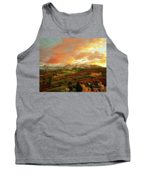 Dallas Divide Sunset Tank Top