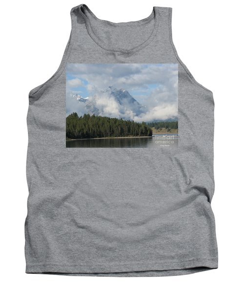 Tank Top featuring the photograph Dam Clouds by Greg Patzer