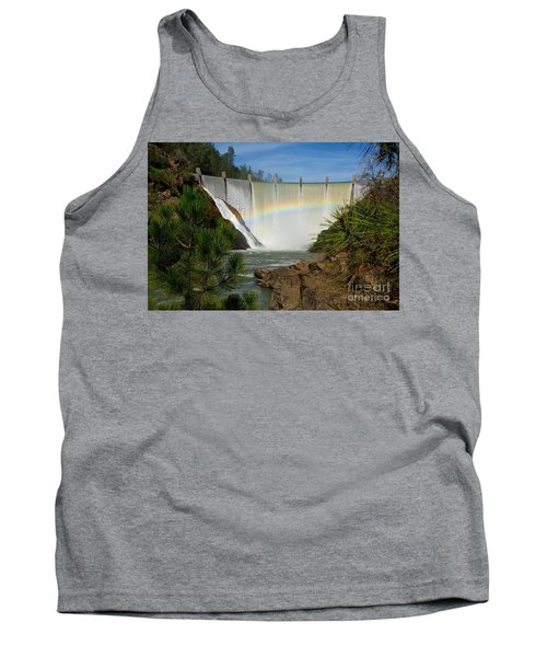 Tank Top featuring the photograph Dam Rainbow by Patrick Witz