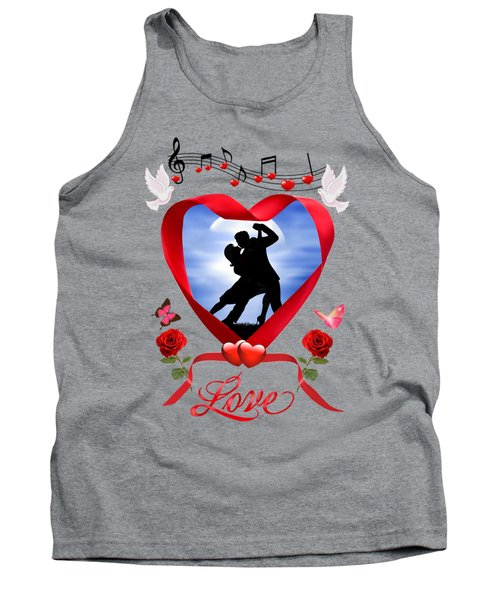 Dancing By The Silvery Moon Tank Top