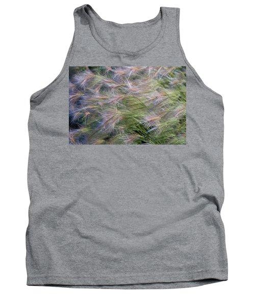 Dancing Foxtail Grass Tank Top