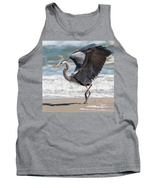Dancing Heron #2/3 Tank Top