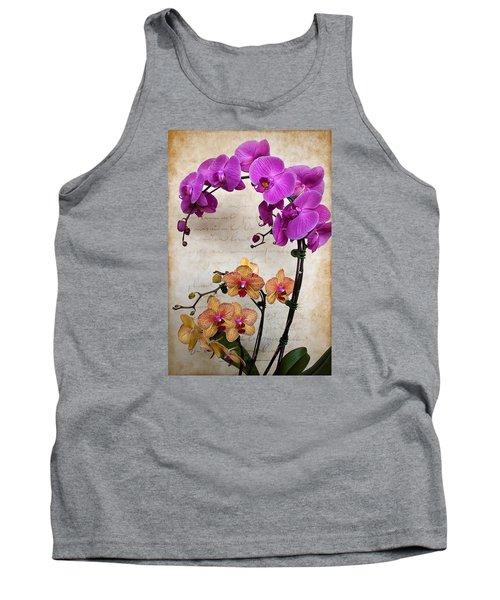 Dancing Orchids Tank Top