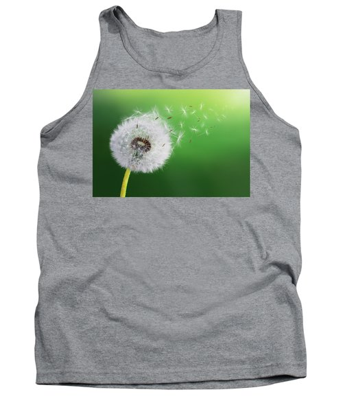 Tank Top featuring the photograph Dandelion Seed by Bess Hamiti