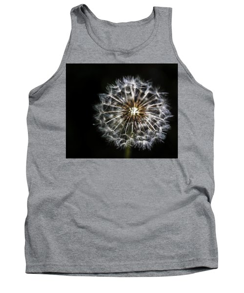 Tank Top featuring the photograph Dandelion Seed by Darcy Michaelchuk