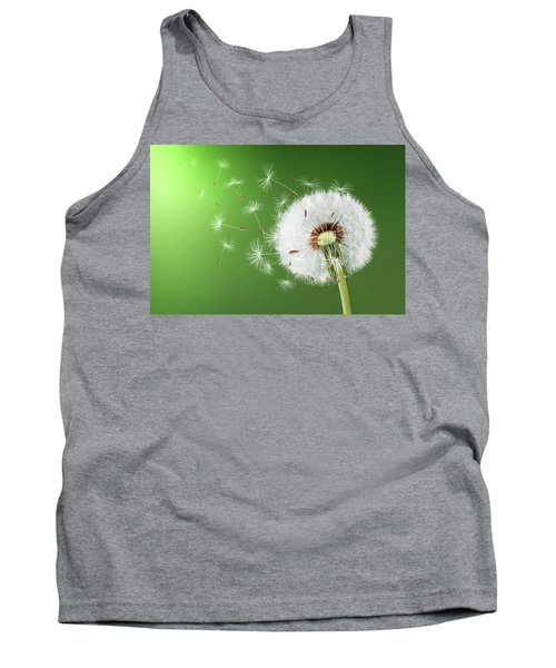 Tank Top featuring the photograph Dandelion Seeds by Bess Hamiti