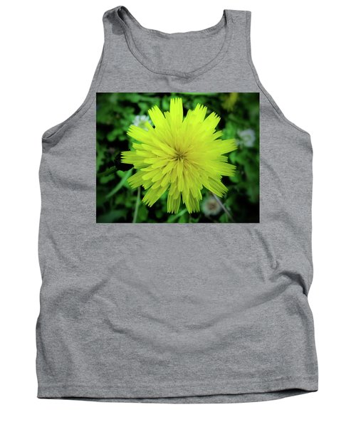 Dandelion Symmetry Tank Top
