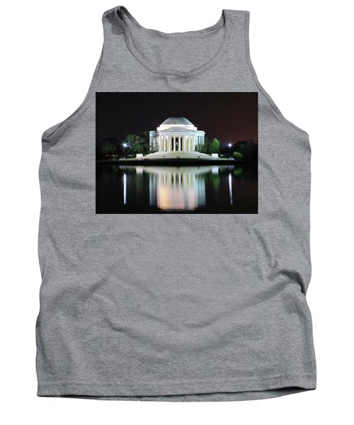 Darkness Over The Jefferson Memorial Tank Top