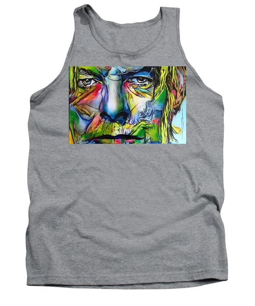 David Bowie Tank Top by Eric Dee