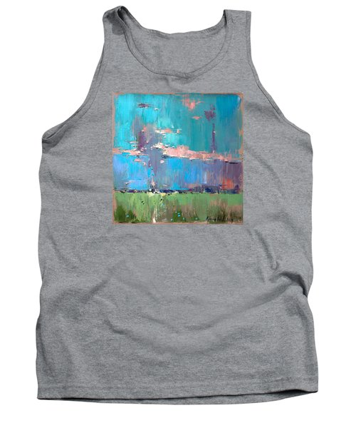 Tank Top featuring the painting Dawn by Anastasija Kraineva