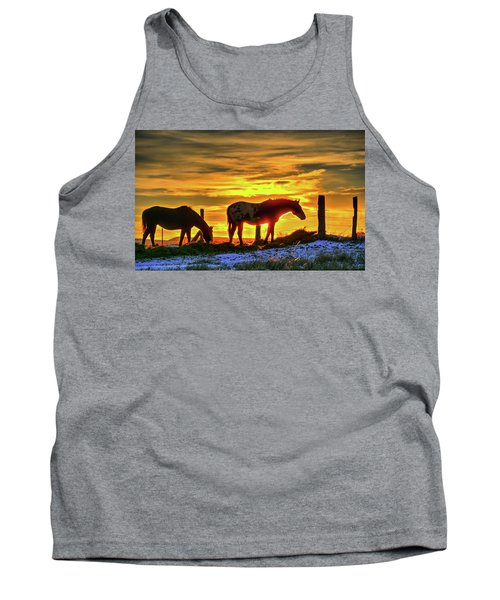 Dawn Horses Tank Top