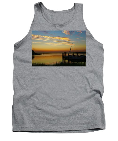 Dawn Over The Bay Tank Top