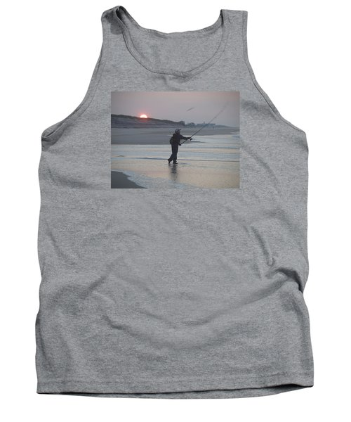 Tank Top featuring the photograph Dawn Patrol by Newwwman