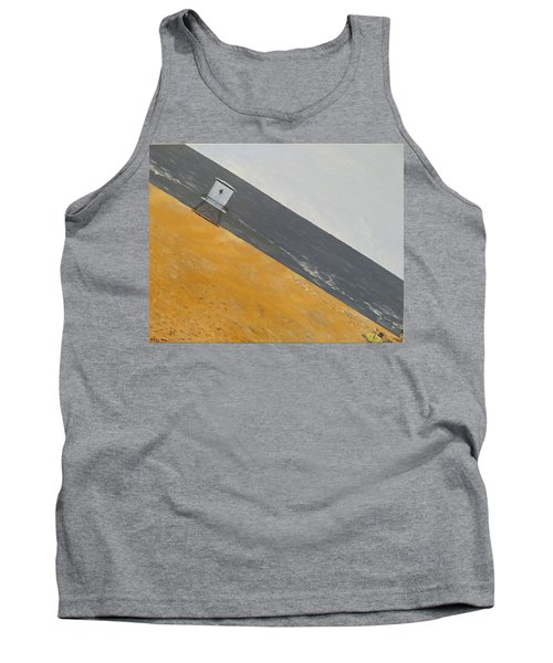 Tank Top featuring the painting Day At The Beach by Kevin Daly