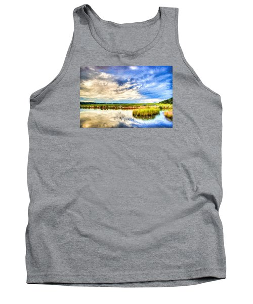 Day At The Marsh Tank Top