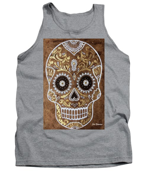 Tank Top featuring the painting Day Of Death by J- J- Espinoza