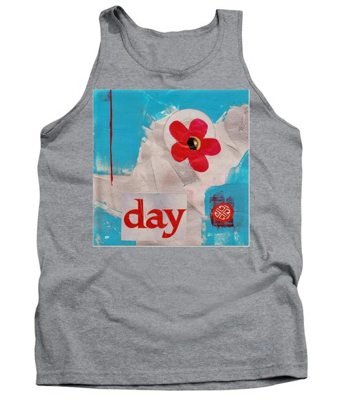 Tank Top featuring the painting Day by Patricia Cleasby