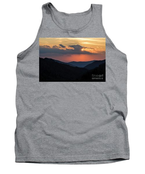 Tank Top featuring the photograph Days End In The Smokies - D009928 by Daniel Dempster