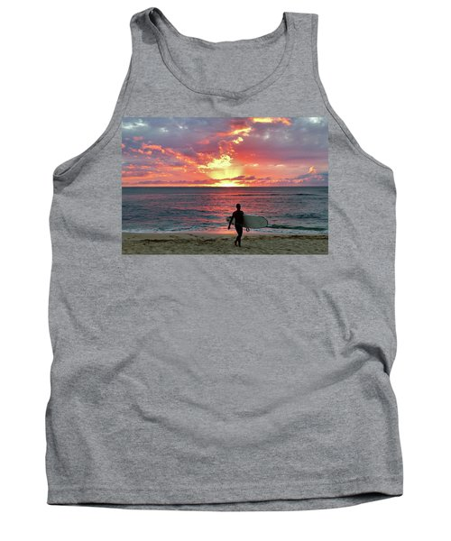 Day's End On The North Shore Tank Top