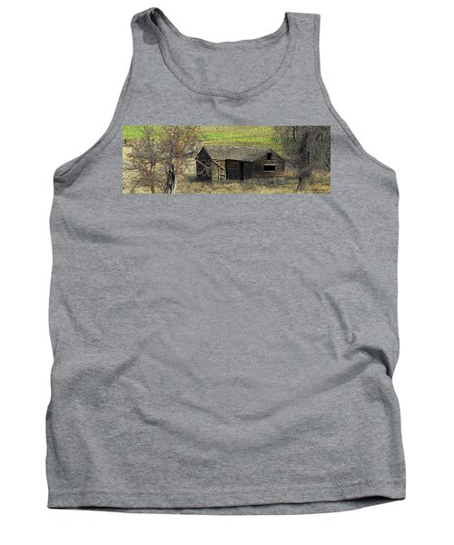 Days Of Old Tank Top by Steve Warnstaff