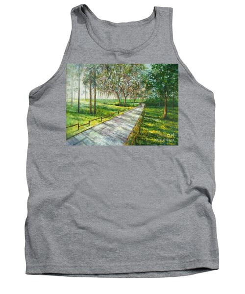 Dayspring Retreat Tank Top by Lou Ann Bagnall