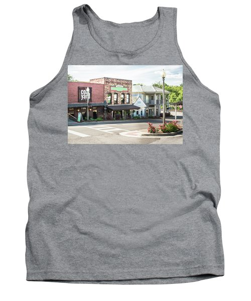 Tank Top featuring the photograph Daytime In Old Town Helena by Parker Cunningham