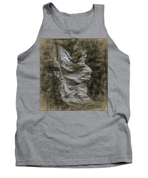 Tank Top featuring the photograph Dead Leaf by Vladimir Kholostykh