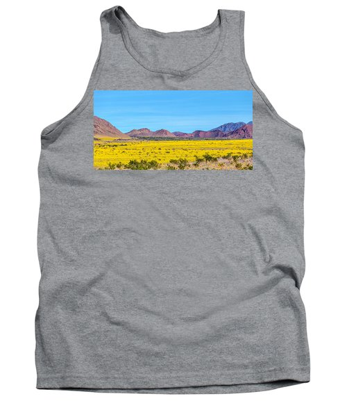 Death Valley Super Bloom 2016 Tank Top by Peter Tellone