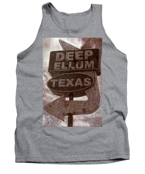 Deep Ellum Texas Tank Top by Jonathan Davison