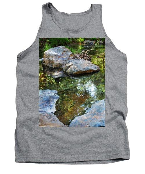 Deer Creek Point Print Tank Top