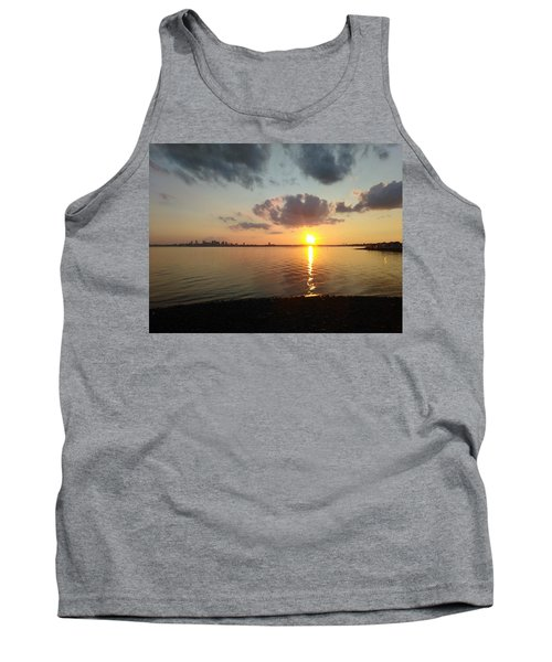 Deer Island Sunset Tank Top