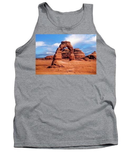 Delicate Arch From Lower Viewpoint Tank Top