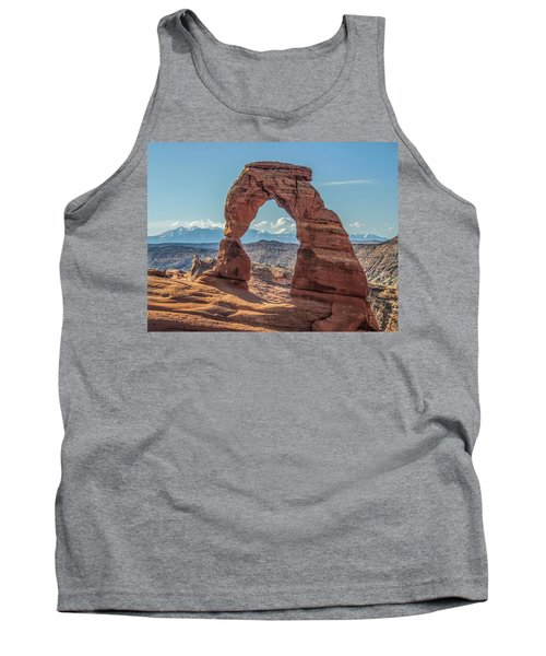 Delicate Arch In Early Morning Tank Top