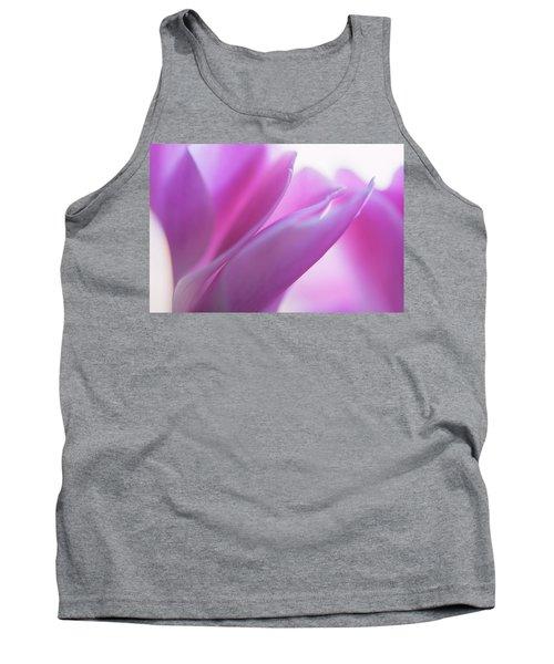 Delicate Beauty Of Cyclamen Flower Tank Top