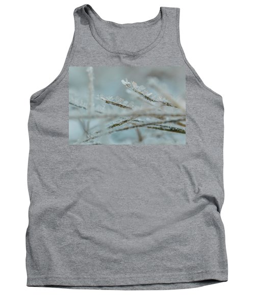 Delicate Morning Frost  Tank Top