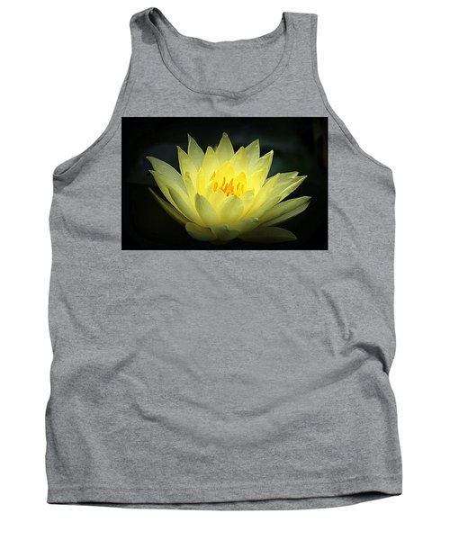 Delicate Water Lily Tank Top
