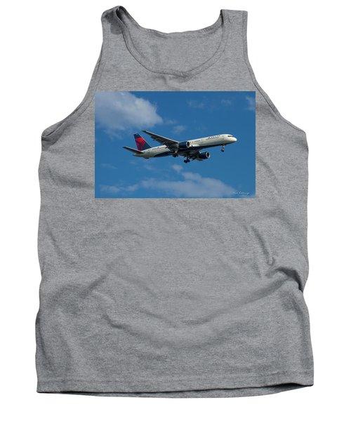 Delta Air Lines 757 Airplane N668dn Tank Top