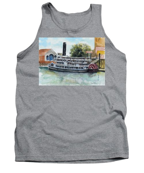 Delta King Tank Top by William Reed