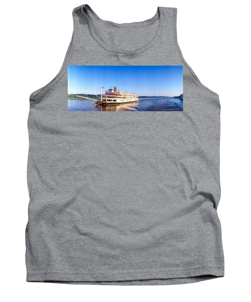 Delta Queen Steamboat On Mississippi Tank Top