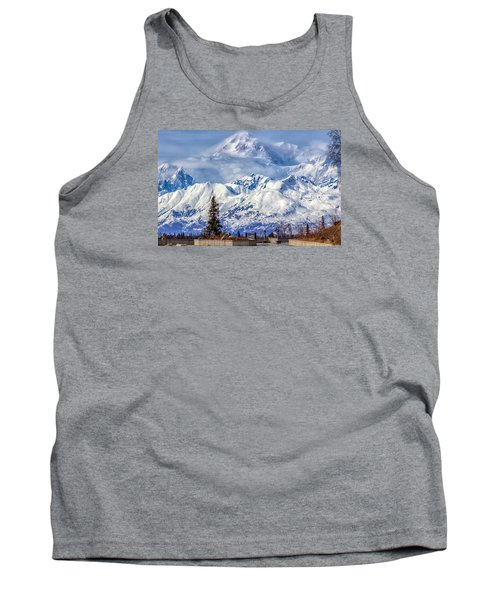Tank Top featuring the photograph Denali by Michael Rogers