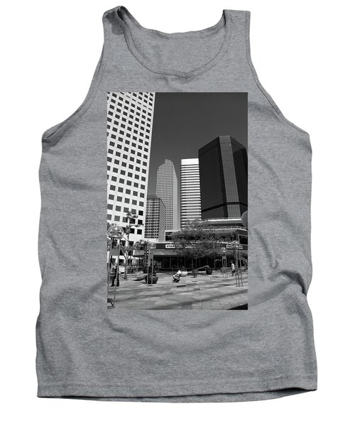 Denver Architecture Bw Tank Top by Frank Romeo
