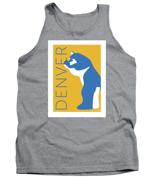 Denver Blue Bear/gold Tank Top