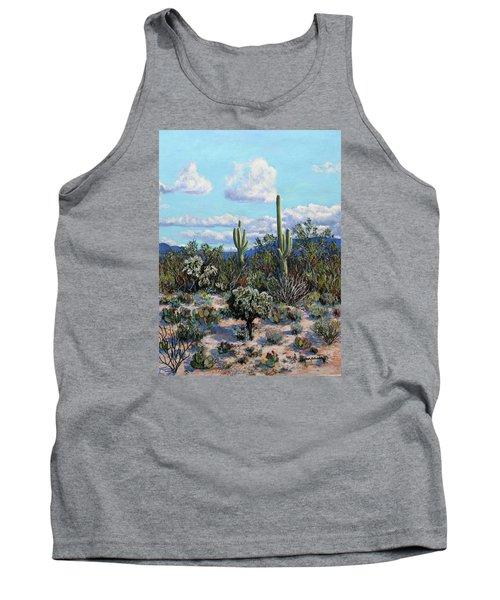 Desert Landscape Tank Top by M Diane Bonaparte