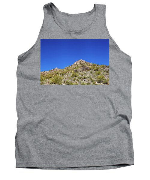 Tank Top featuring the photograph Desert Mountaintop by Ed Cilley