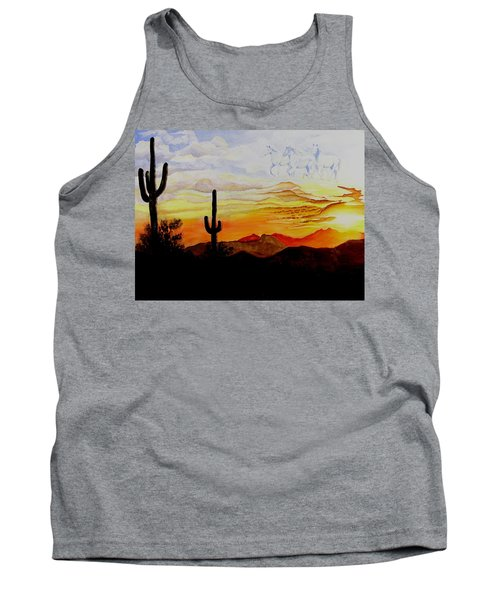 Desert Mustangs Tank Top